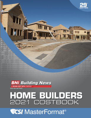 BNI Home Builders Costbook 2021