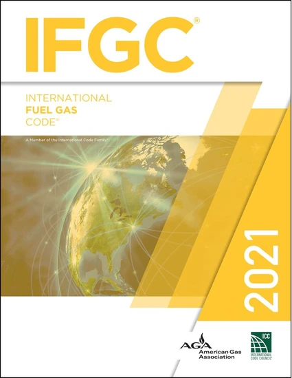 2021 International Fuel Gas Code Softcover Edition