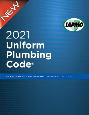 2021 Uniform Plumbing Code Softcover