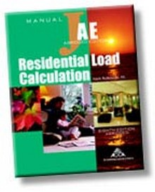 Manual J Residential Load Calculation 8th edition Abridged