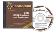 ASHRAE HVAC Systems & Equipment Handbook 2008, IP Edition - CD-ROM (Dual Units)