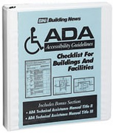 ADA Accessibility Guidelines: Checklist for Buildings and Facilities