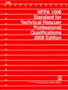 nfpa 1006 Nfpa 1006 - standard for rescue technician professional qualifications, 2003 edition, nfpa, this standard establishes the minimum job performance requirements necessary for fire service and other emergency response personnel who perform technical rescue operations.