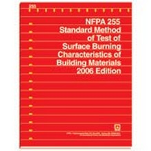 NFPA 255 - Standard Method of Test of Surface Burning Characteristics of Building Materials, 2006 Edition