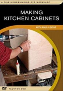 Making Kitchen Cabinets DVD