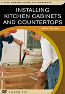 Installing Kitchen Cabinets and Countertops DVD