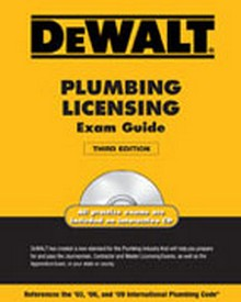 DeWALT Plumbing Licensing Exam Guide, 3rd Edition