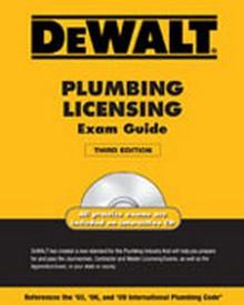 DeWALT Plumbing Licensing Exam Guide, 3rd Edition