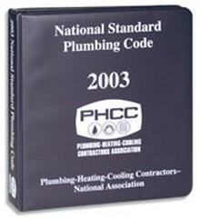 2003 National Standard Plumbing Code