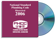 2006 National Standard Plumbing Code Illustrated CD-ROM