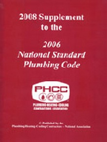 2008 Supplement to the 2006 National Standard Plumbing Code (NSPC)
