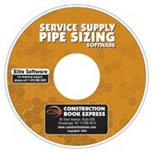Service Supply Pipe Sizing Software