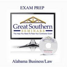 Alabama Business Law Exam Prep CD-ROM
