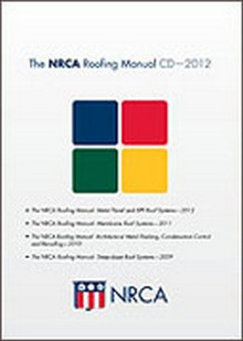 The NRCA Roofing Manual CD - 2013