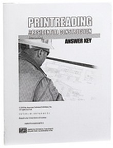 Printreading for Residential Construction Answer Key, 5th Edition