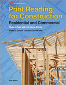 Print Reading for Construction, 6th Edition
