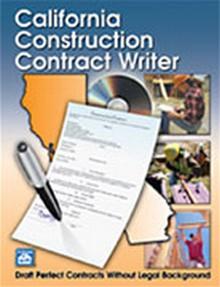 California Construction Contract Writer