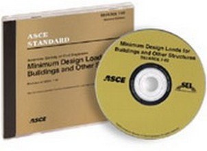 ASCE 7-02 Standard - Minimum Design Loads for Buildings and Other Structures, SEI,  CD ROM, 2002