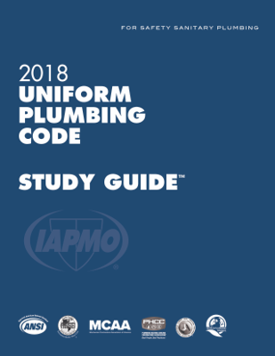 2018 Uniform Plumbing Code Study Guide with Tabs