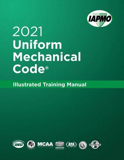 2021 Uniform Mechanical Code Illustrated Training Manual