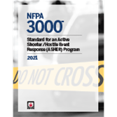 2021 NFPA 3000, Standard for an Active Shooter/Hostile Event Response (ASHER) Program