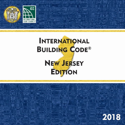 New Jersey Building Code 2018