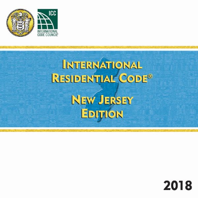 New Jersey Residential Code 2018