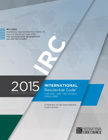 International Residential Code (IRC) 2015 Looseleaf