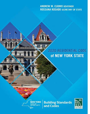 2020 New York State Residential Code | Construction Book ...
