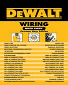 DEWALT Wiring Quick Check, 1st Edition