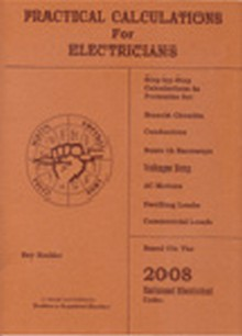 Practical Calculations for Electricians, 2008 Edition