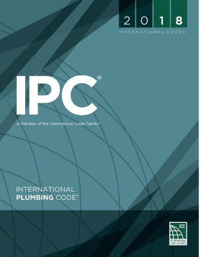 2018 International Plumbing Code, Looseleaf