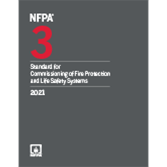 2021 NFPA 3, Standard for Commissioning of Fire Protection and Life Safety Systems