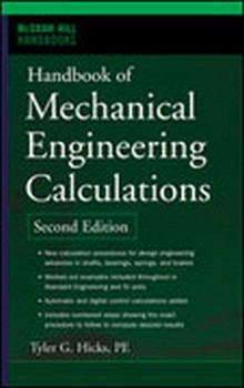 Handbook of Mechanical Engineering Calculations, 2nd Edition 2006