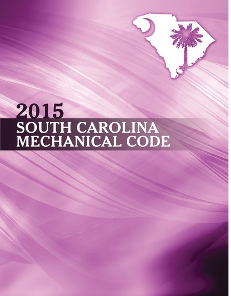 South Carolina Mechanical Code 2015