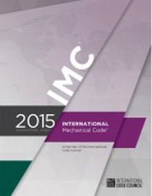 International Mechanical Code (IMC) 2015 Paperback