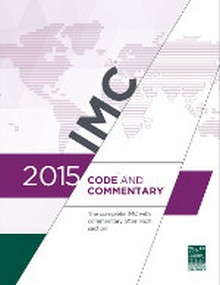 International Mechanical Code (IMC) and Commentary 2015