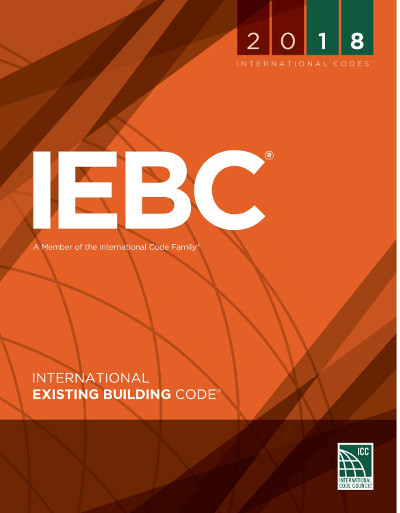 2018 International Existing Building Code, Loose Leaf