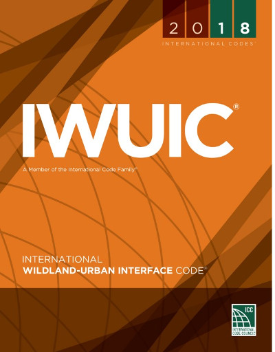 2018 International Wildland-Urban Interface Code