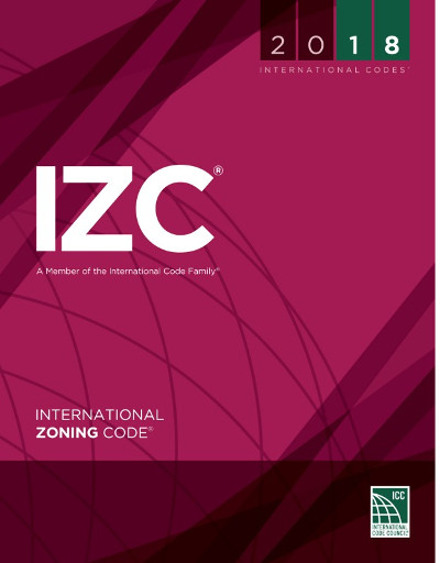 2018 International Zoning Code