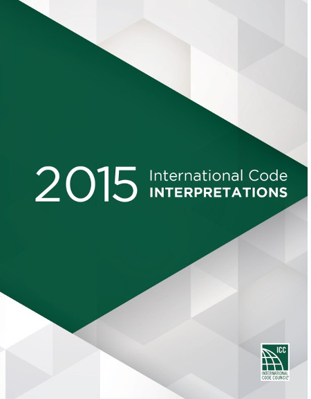 2015 International Code Interpretations