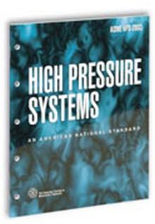 ASME HPS-2003: High Pressure Systems