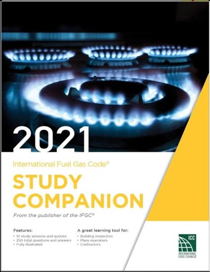 2021 International Fuel Gas Code Study Companion