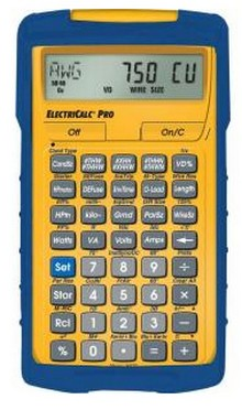 ElectriCalc Pro Electrical Code Calculator, 2014 NEC Compliant
