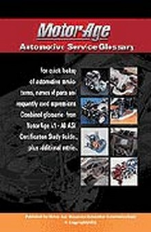 ASE Study Guide - AGT Glossary of Automotive Technical Terms