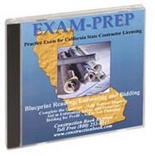 Ca Contractor Exam Prep Blueprint Reading Estimating