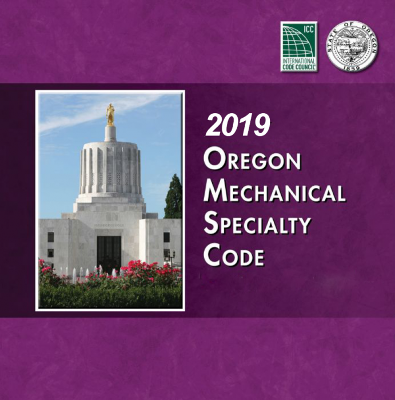 2019 Oregon Mechanical Specialty Code