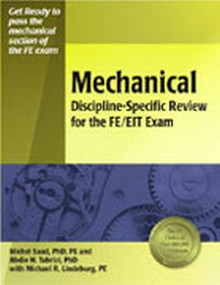 Mechanical Discipline-Specific Review for the FE/EIT Exam, 2nd Edition