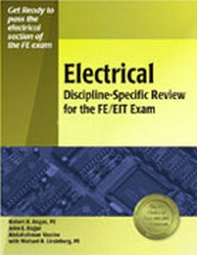 Electrical Discipline-Specific Review for the FE/EIT Exam, 2nd Edition