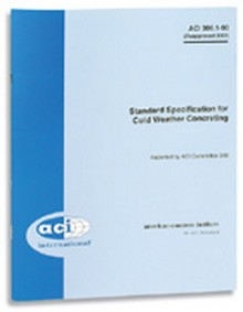 ACI 306.1-90: Standard Specification for Cold Weather Concrete